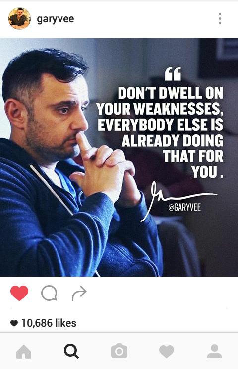 Gary Vaynerchuk Instagram