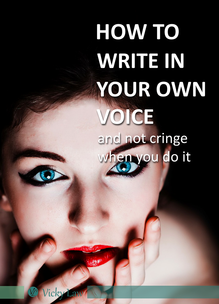 how to write in your own voice