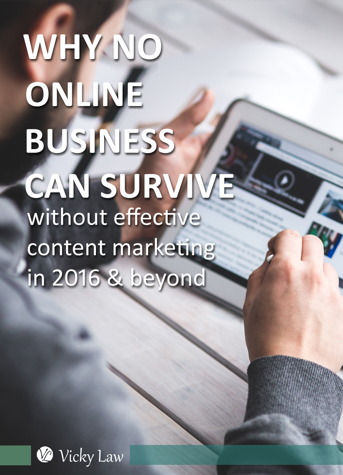 Why No Online Business Can Survive Without Effective Content Marketing in 2016 And Beyond