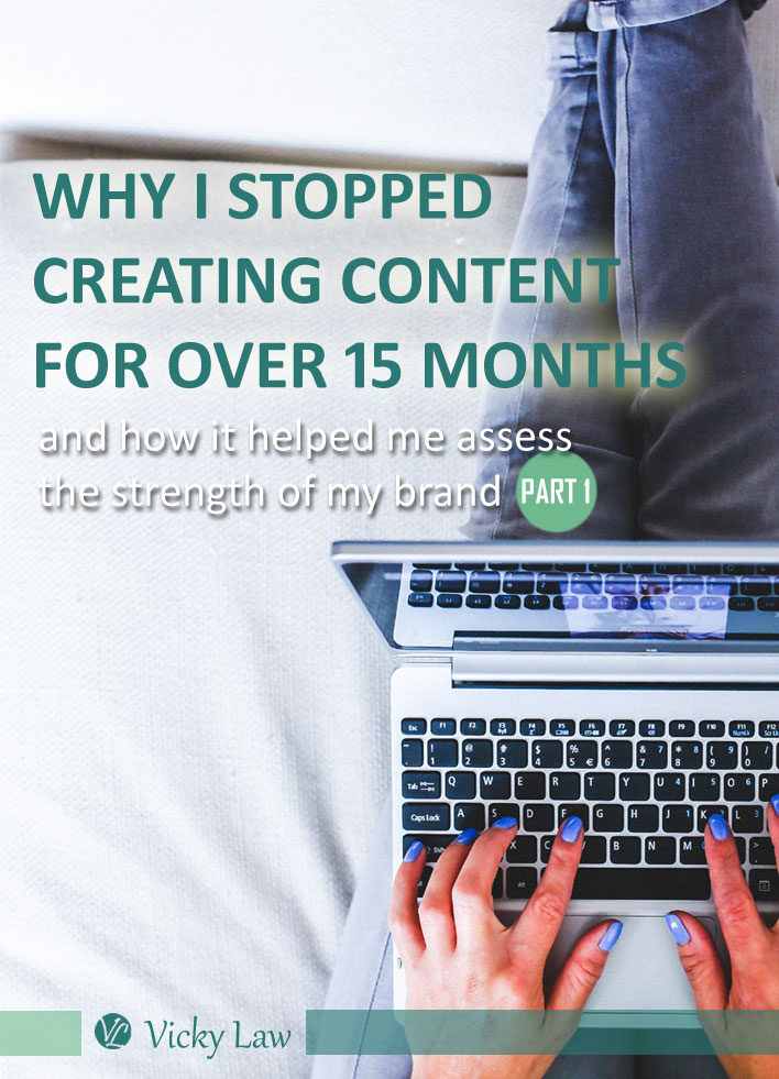 Why I Stopped Creating Content for Over 15 Months and How It Helped Me Assess the Strength of My Brand (Part 1)